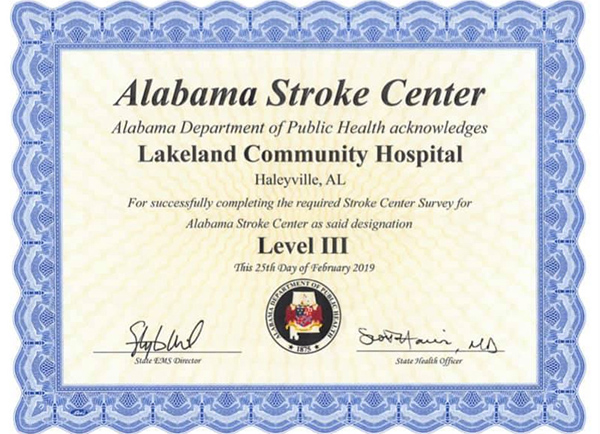 Alabama Stroke Center
